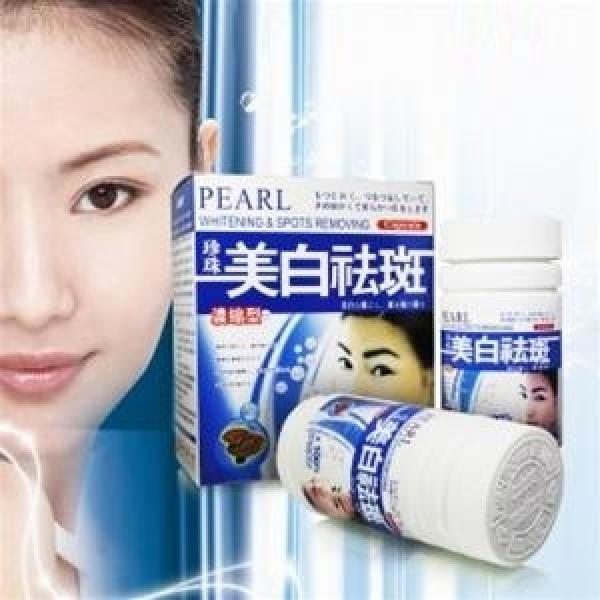 Pearl Whitening - Viên uống trị nám da, đốm nâu tinh chất ngọc trai