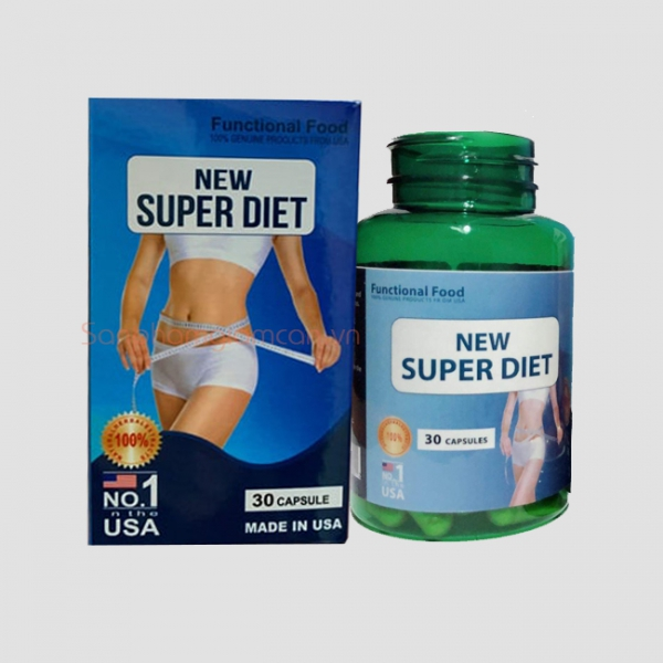 Thuốc Giảm Cân New Super Diet Nhập Khẩu Mỹ