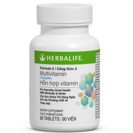 Herbalife - Hỗn hợp vitamin công thức 2 quan trọng với cơ thể (Formula 2)