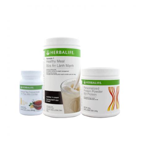 Herbalife – Bộ giảm cân tối ưu gồm 3 sản phẩm (F1, PPP, Trà)